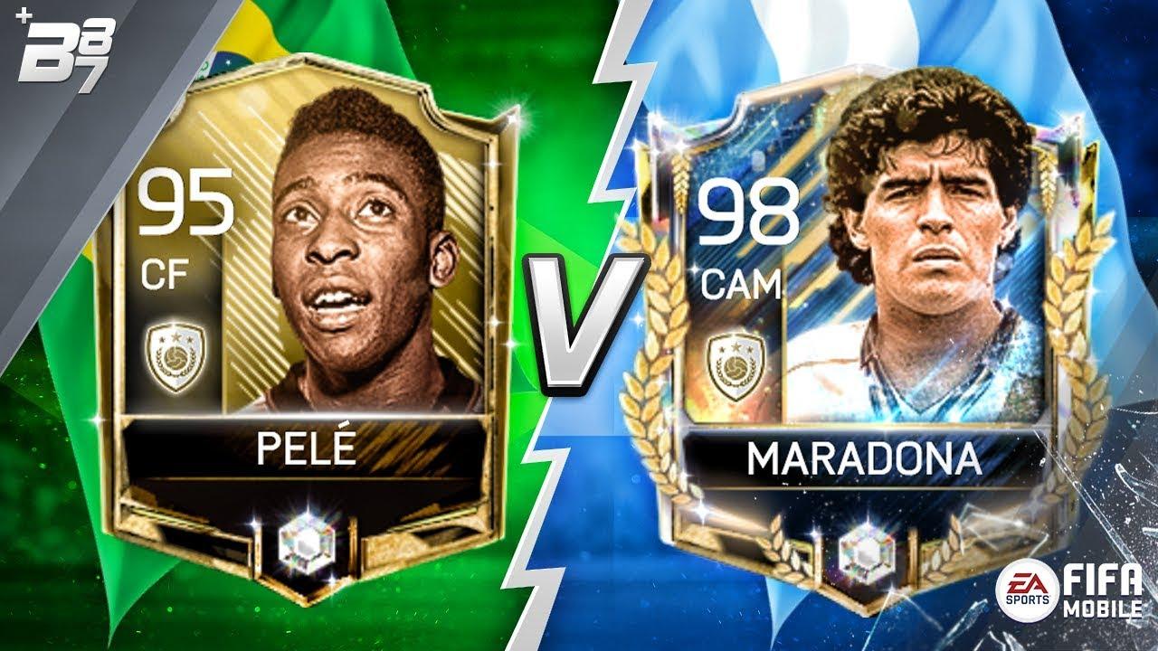Maradona Vs Pele Fifa Mobile