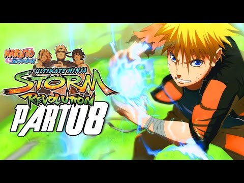 Naruto Shippuden: Ultimate Ninja Storm Revolution - Walkthrough Part 8, Gameplay Xbox 360
