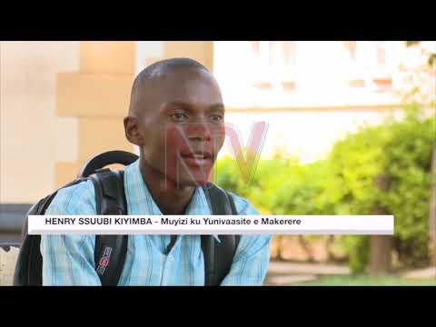 Omuyizi w'e Makerere Henry Ssuubi Kiyimba abaamujereze batuuse okwebwalabwala