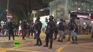 Hong Kong: Policía dispersa a los manifestantes mientras continúan las protestas
