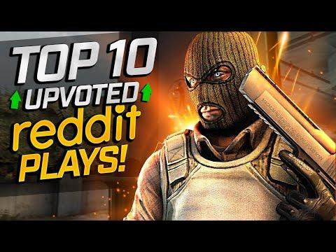 CS:GO - TOP 10 Reddit Plays (Fragmovie)