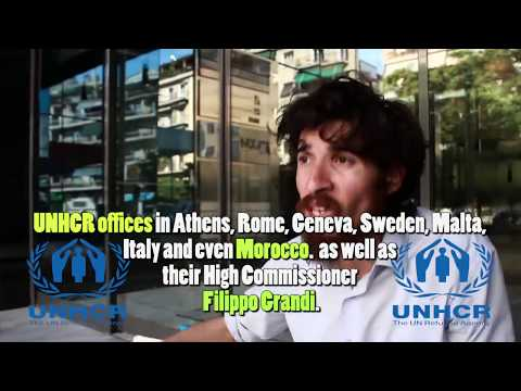 Hostage of Europe - ''My Interview With Raluca Bejan - Me, UNHCR, Greece and Sweden''