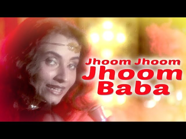 Jhoom Jhoom Jhoom Baba - Kasam Paida Karne Wale Ki - Mithun Chakraborty - Salma Agha - Smita Patil