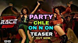 Party chale on & on Teaser Out | Salman Khan | Mika Singh | Iulia Ventur | Race 3 Songs Salman khan