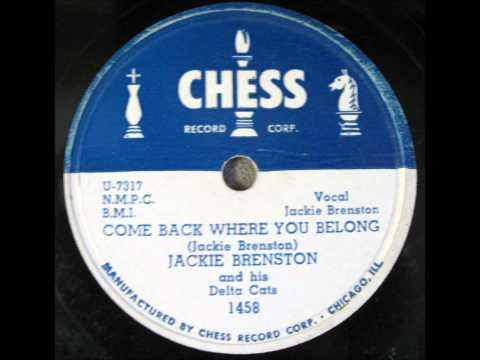 Jackie Brenston And His Delta Cats -  Chess Records 1458 - 1951