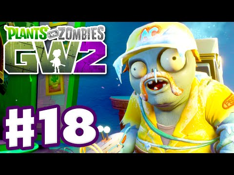 Plants vs. Zombies: Garden Warfare 2 - Gameplay Part 18 - AC Perry! (PC) video download