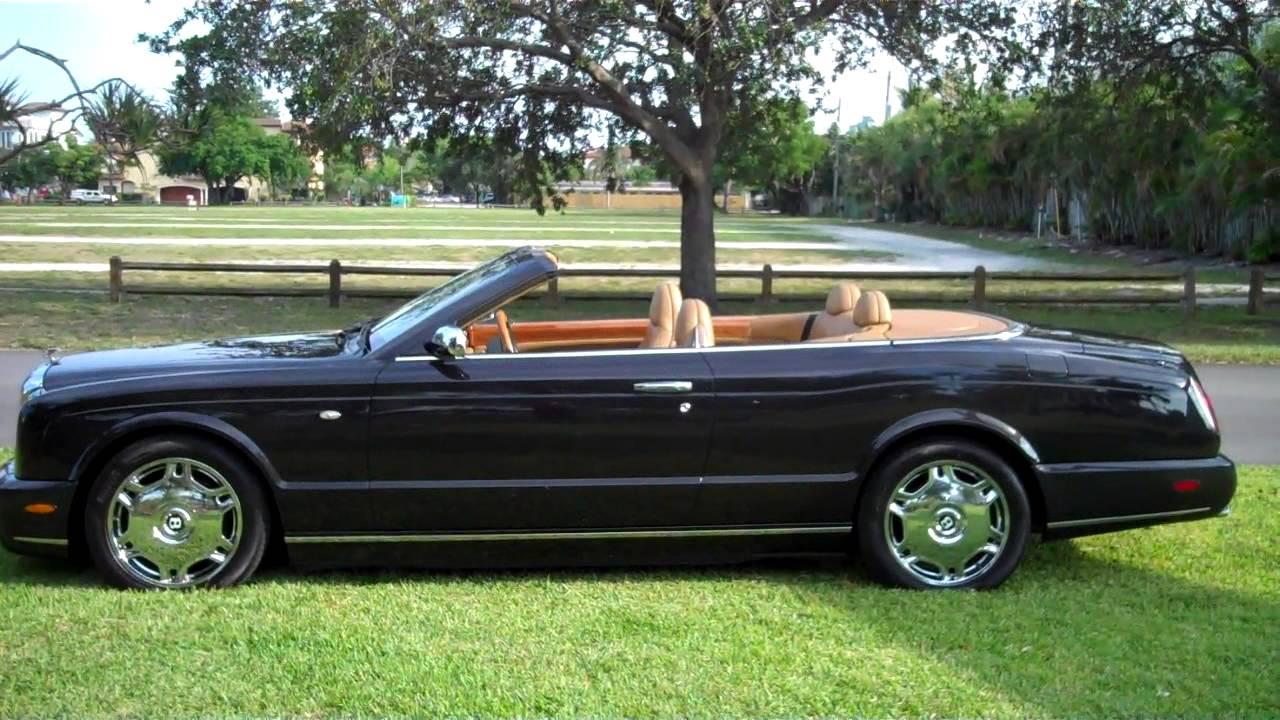 2007 bentley azure mint florida car clean car fax youtube. Black Bedroom Furniture Sets. Home Design Ideas