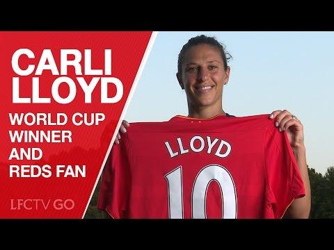 Carli Lloyd: World Cup winner and Liverpool FC fan