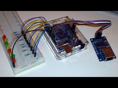 ENC28J60 Step By Step: Part 2 - Remote Control Of Arduino Pins Over Network