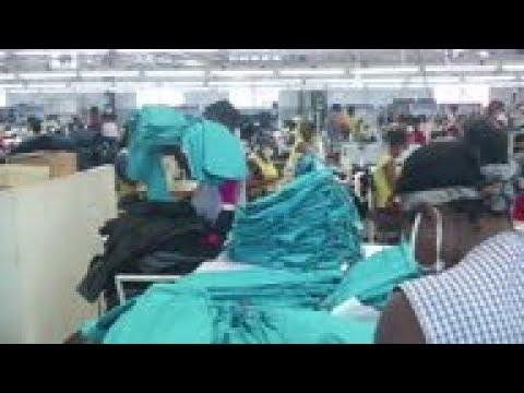 Haitian textile factories shift to facemasks