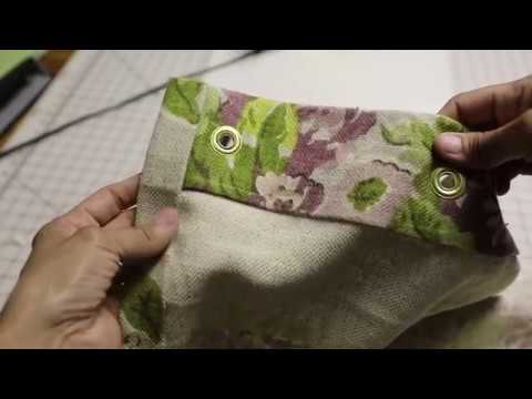 How To Make A DIY No Sew Shower Curtain W Serena Appiah Of Thrift Diving