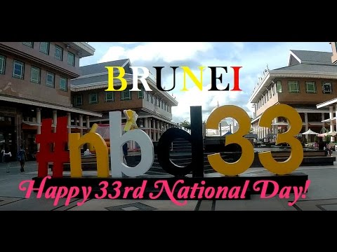BIG EVENTS IN BRUNEI: Brunei's 33rd National Day