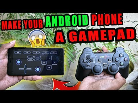 How To Make Your Android Phone A Wireless GamePad Without Root 😱🔥