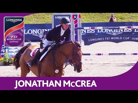 Jonathan McCrea | Longines FEI World Cup™ Jumping 2016/17 | Bromont (CAN)