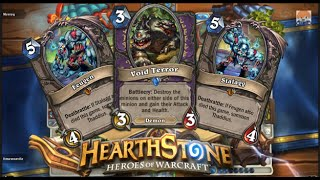 Hearthstone: Void Terror eats Feugen and Stalagg