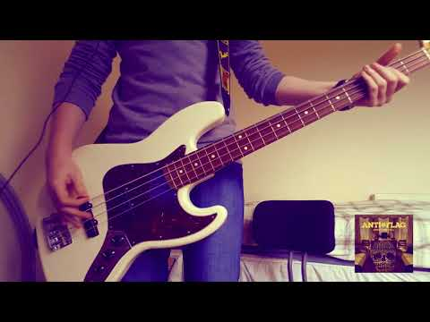 Anti-Flag - American Attraction - Bass Cover