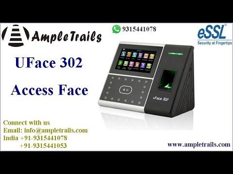 Uface 302 Essl face Fingerprint Time attendance machine | Accurate Time  Attendance