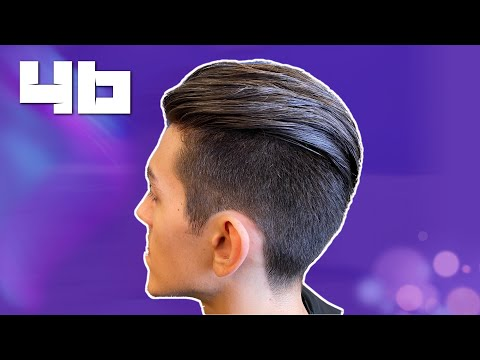 how-to-cut-with-the-razor-undercut-with-#2