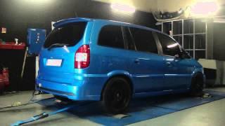 * Reprogrammation Moteur * Opel Zafira OPC 200cv STAGE 2 @ 253cv Dyno Digiservices Paris