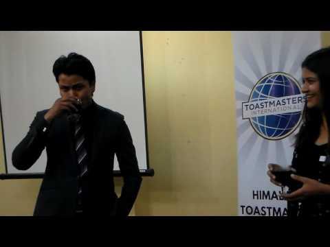 TM Prashant Shrestha on Project 1 from Interpersonal Communication
