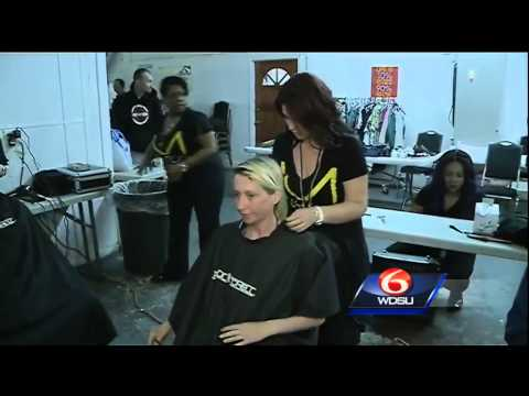 Haircuts for the homeless; Cosmotology students aim to build confidence with cuts