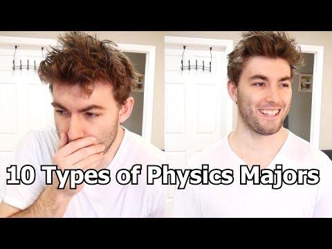 10 Types Of Physics Majors (Joke Video)