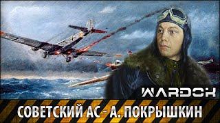 Легендарный ас советской авиации - А. Покрышкин / Wardok