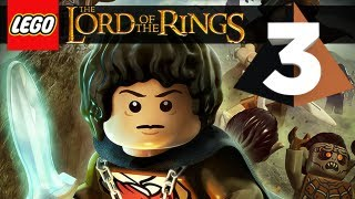 Lego Lord of the Rings Gameplay Walkthrough Part 3 - Bree, Prancing Pony Inn ! [Xbox 360/PS3/PC]