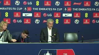 Aliens? Mourinho press conference interrupted by eerie noises