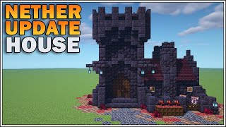 Minecraft 1.16 - Nether Update Starter House [Small Blackstone Fortress]