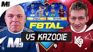 TOTS F8TAL VS KAZOOIE94! TOTS DYBALA VS TOTS NEYMAR!! | #7 | FIFA 16 ULTIMATE TEAM
