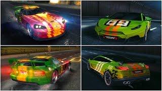 Asphalt 8, Dodge Viper & Savage Rivale GTR, my NEW DECALS