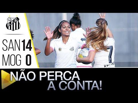 Sereias da Vila 14 x 0 União Mogi | GOLS | Paulistão (15/06/16)
