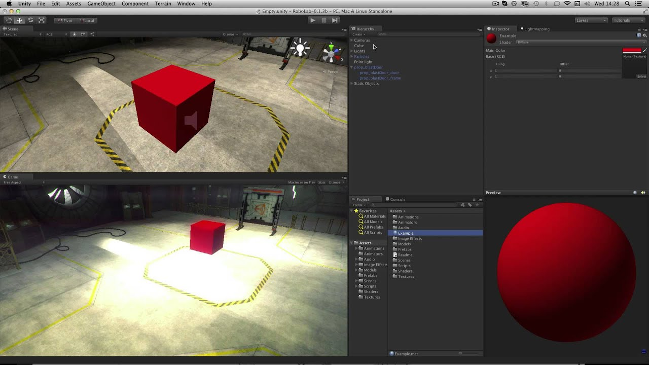 Materials - Unity Official Tutorials