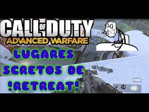 Call Of Duty Advanced Warfare - 2 Lugares Secretos De Retreat 2018