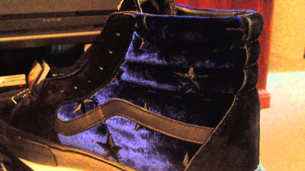 VANS x Supreme Sk8-Hi Pro - (Velvet) Blue colorway - 9-20-13 - YouTube 7623bdb1f
