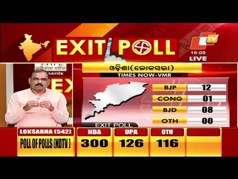 Times Now Exit Poll predicts 12 LS seats for BJP in Odisha