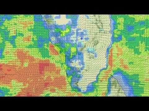 Next 3 days over SE Arabian Sea and rain for Kerala