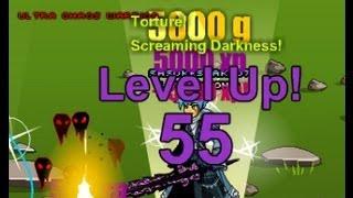AQW Fastest way to get to level 55 11k xp per kill!