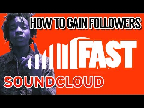 how to get your soundcloud followers up