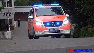 [2.Perspektiven + Gruß vom NA] Durchsage + Ausrücken NEF Feuerwehr Fulda