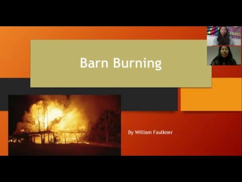 an analysis of barbarity in barn burning by william faulkner Symbolism in william faulkner's barn burning learn about the different symbols such as fire in barn burning and how they contribute to the plot of the book.