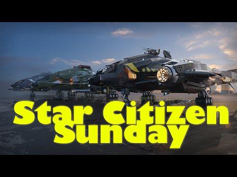 Star Citizen Sunday Part 1 - Procedural Gen, Science & Research, Vanguard QA + More