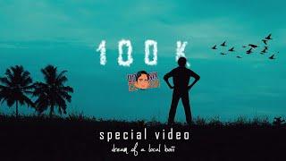100k special video | Donix clash 100k video | Dream of a Local boy| Sports talker |