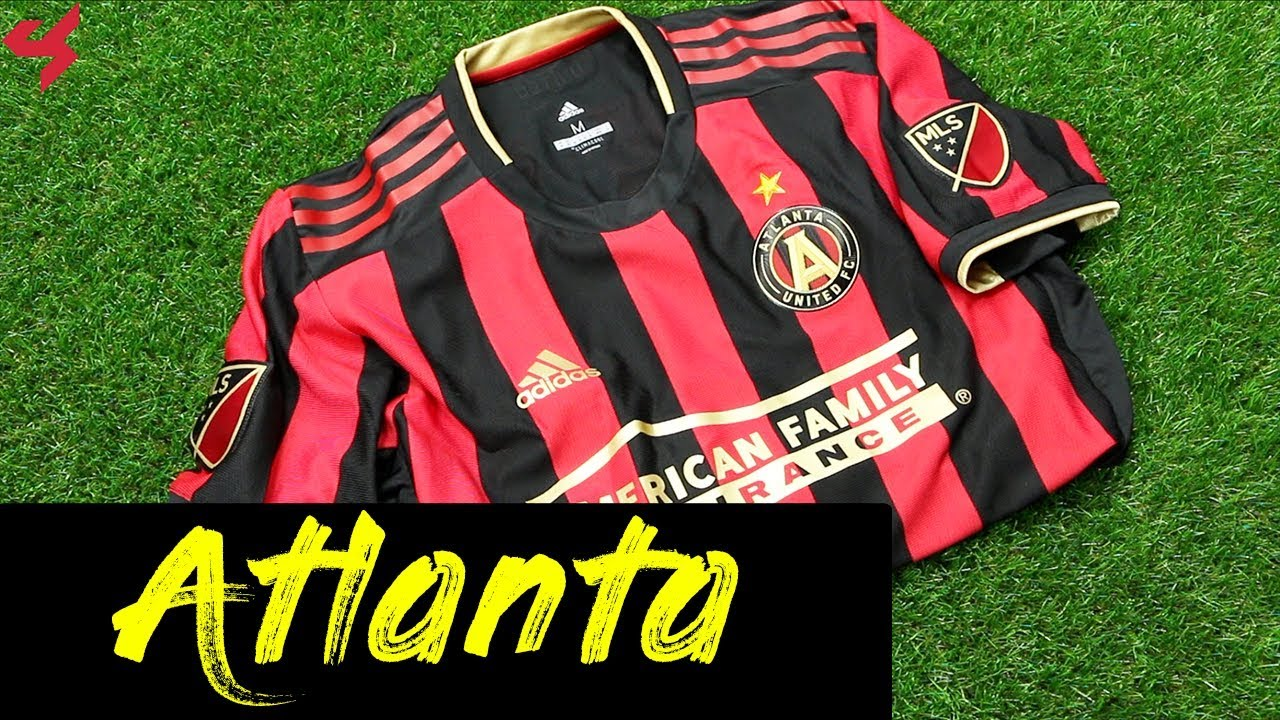 quality design df62c 7254d Adidas Atlanta United FC 2019 Home Jersey Unboxing + Review