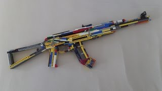 Lego AK-47 (working)+ Instruction