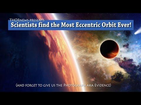 Big Hot jumping Jupiter! Scientists find the Most Eccentric Planet Orbit Ever*!