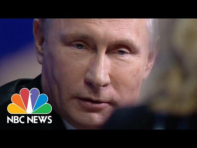 Megyn Kelly Questions Vladimir Putin On Election Interference Nbc News