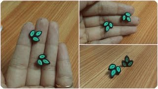 How to Make Easy Quilling Earring.