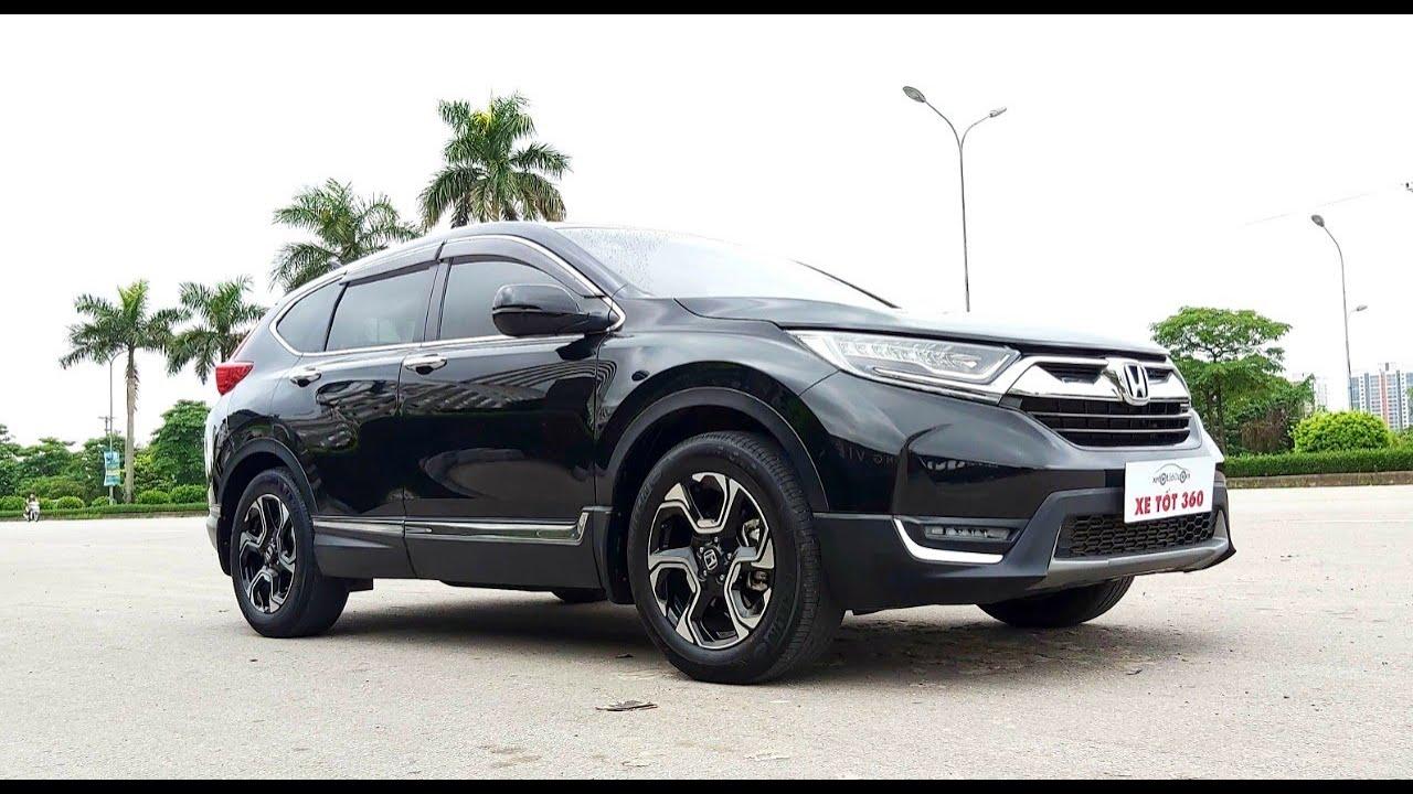 Honda CRV1.5Turbo BẢN CAO CẤP NHẬP THÁI 2018 đẹp bá đạo GIÁ CỰC ÊM_Xe Tốt 360